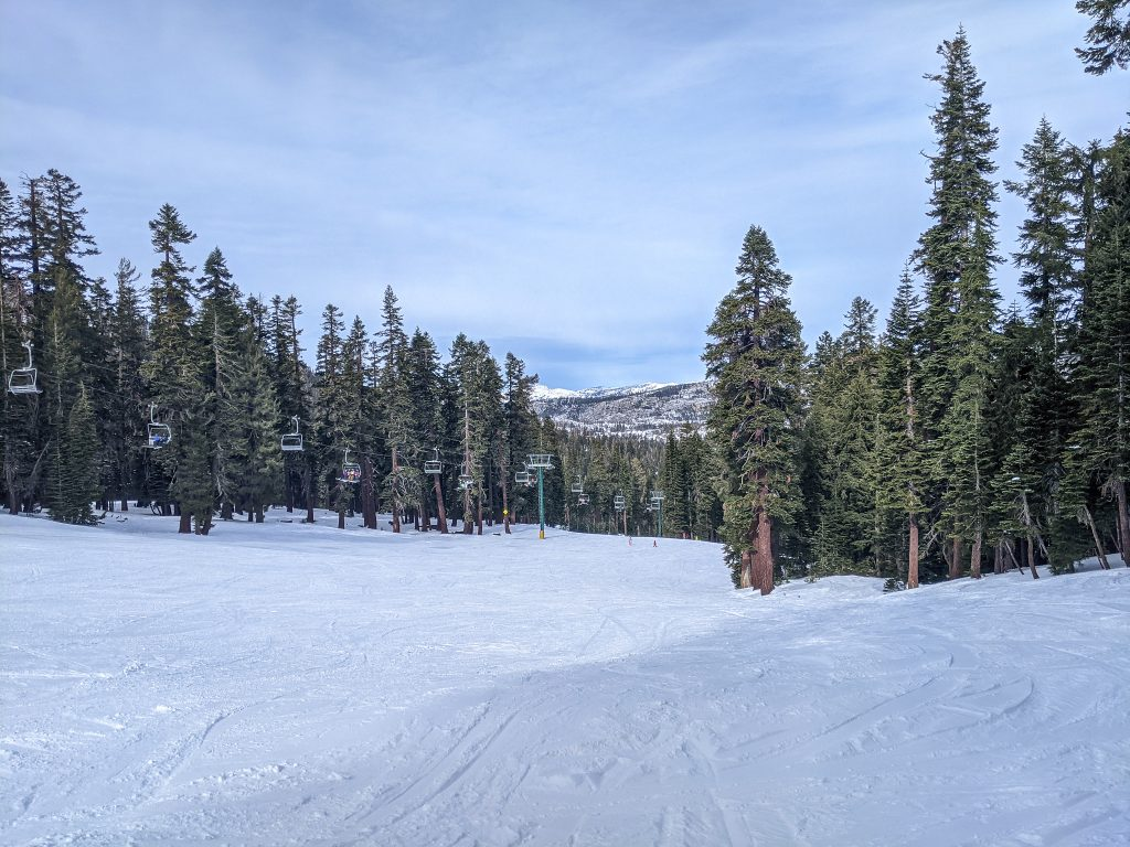beginner skiing at kirkwood tahoe
