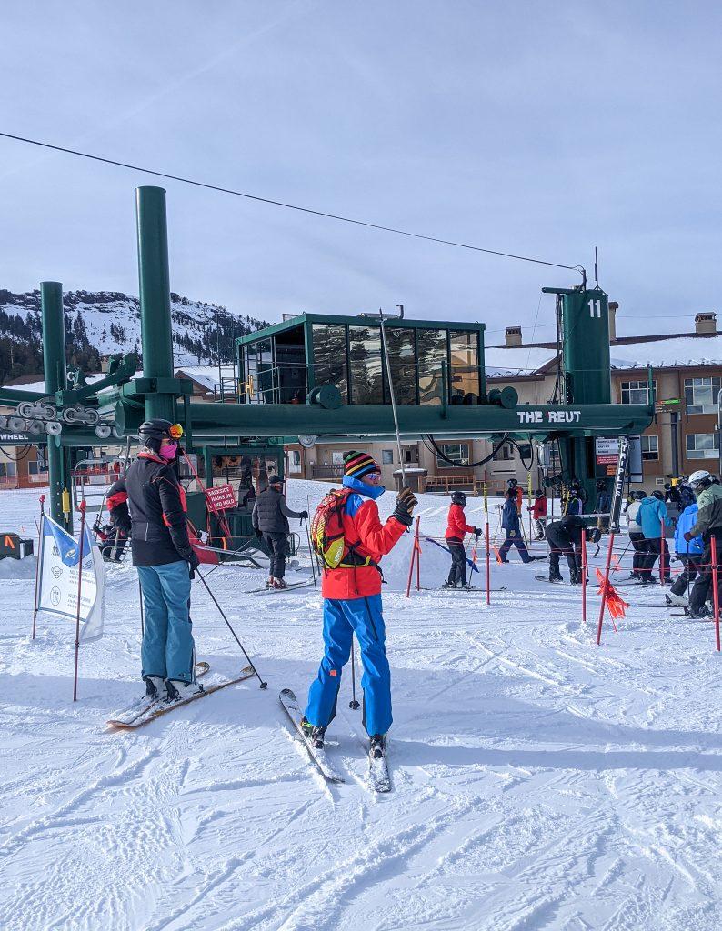 Beginner to Intermediate Skiing at Kirkwood Mountain Resort