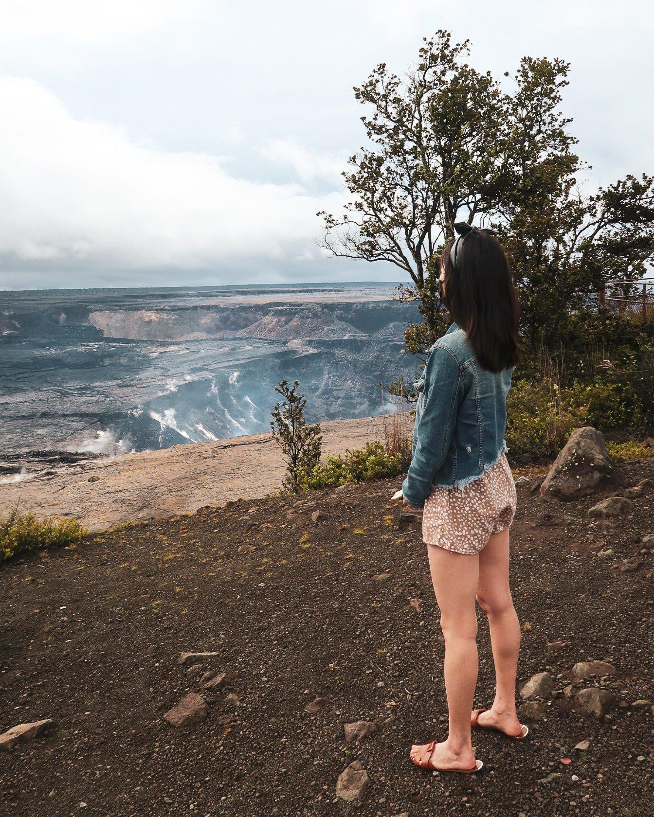volanoes national park big island itinerary