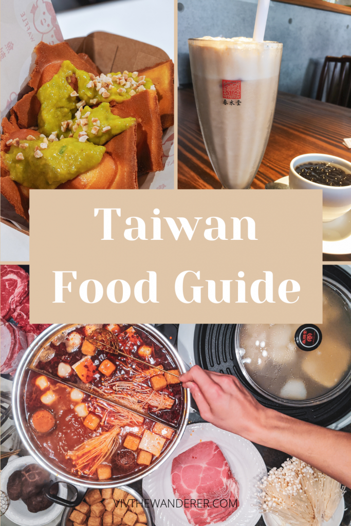 Taiwan food guide Viv the Wanderer