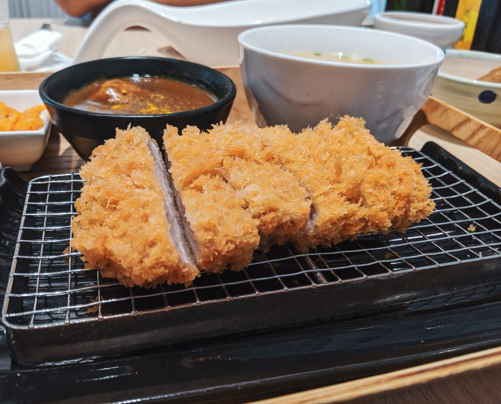 Japanese pork cutlet Taiwan restaurant